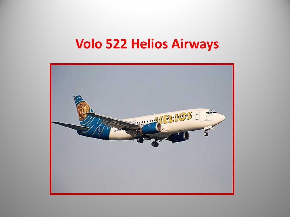 Volo 522 Helios Airways