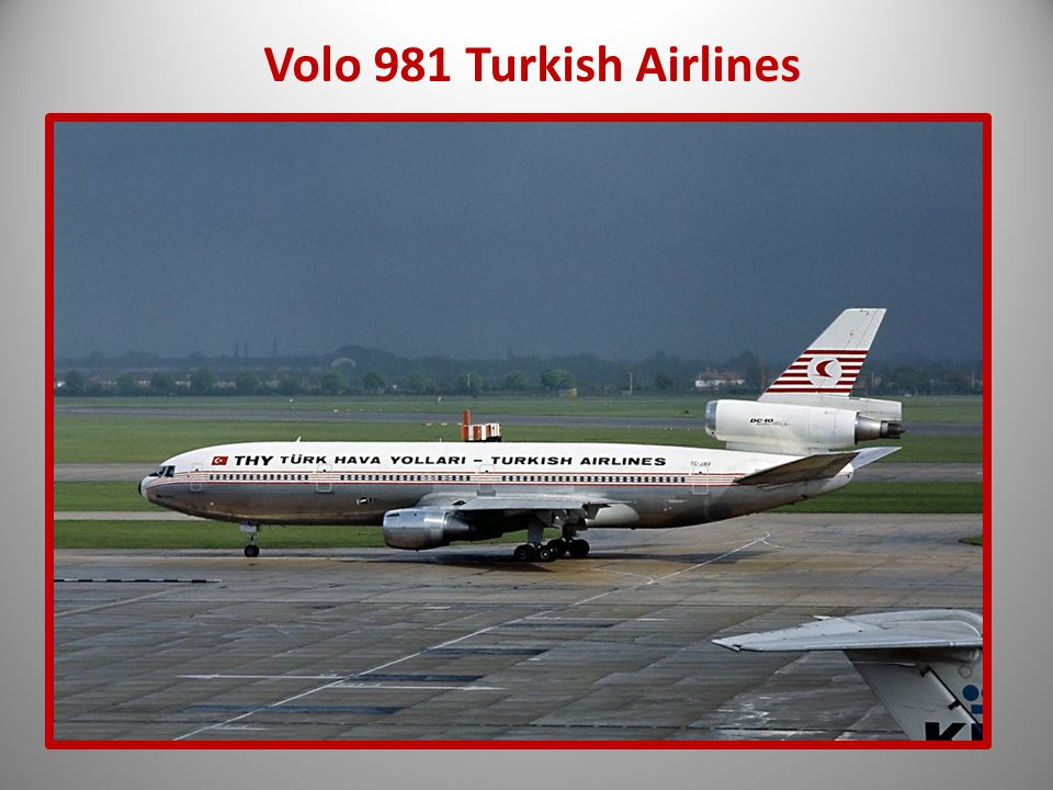 Volo 981 Turkish Airlines