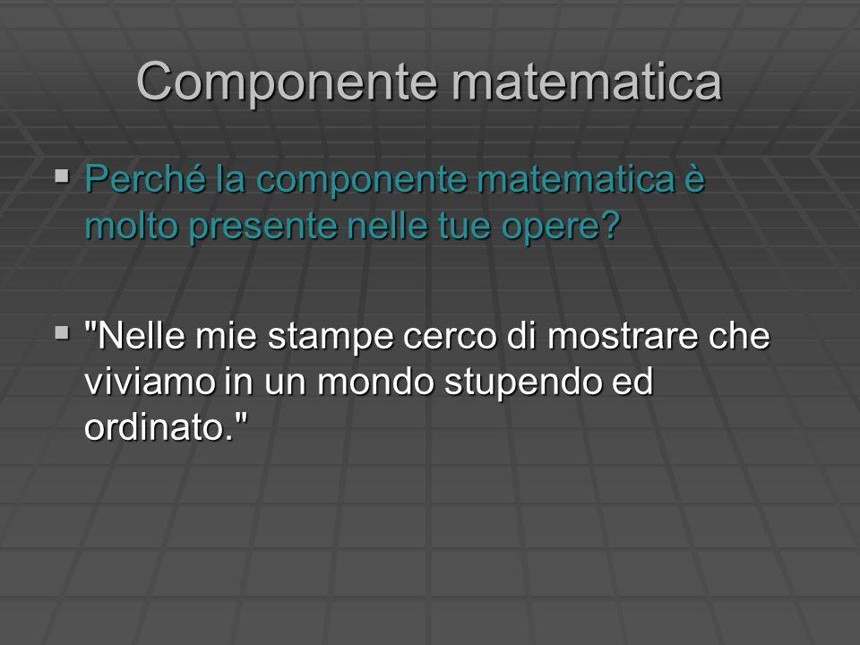 Componente matematica