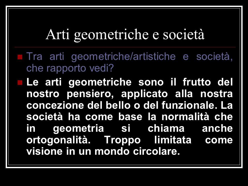 Arti geometriche e società