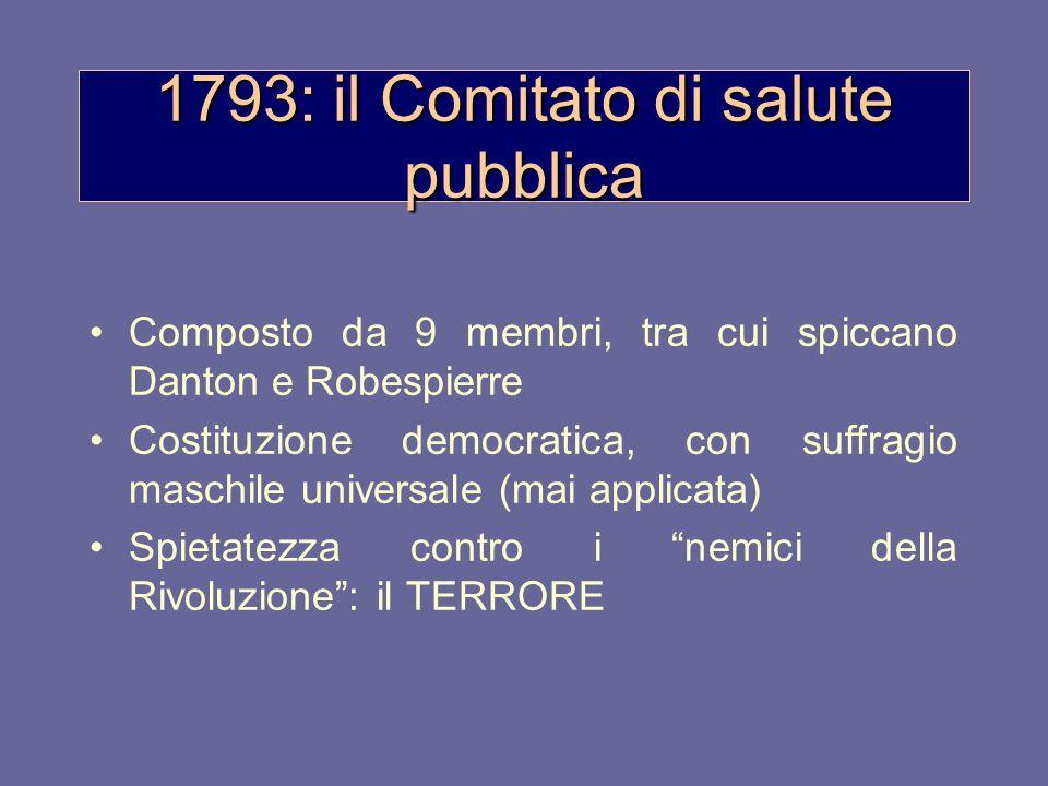 1793: il Comitato di salute pubblica