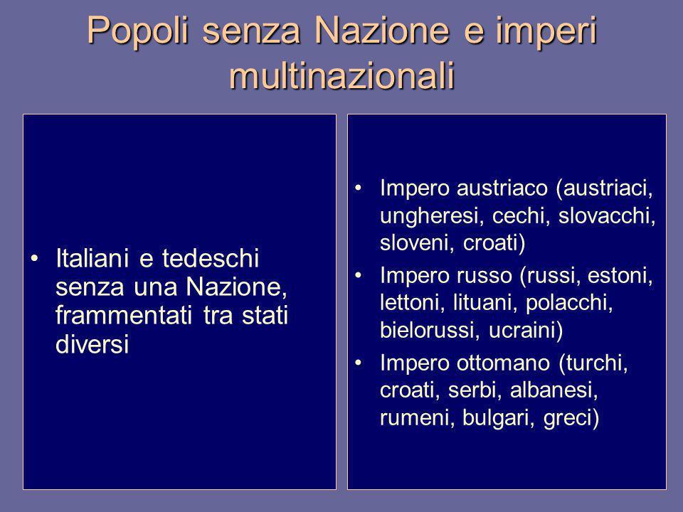Popoli senza Nazione e imperi multinazionali