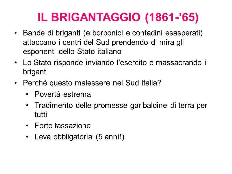 IL BRIGANTAGGIO (1861-'65)