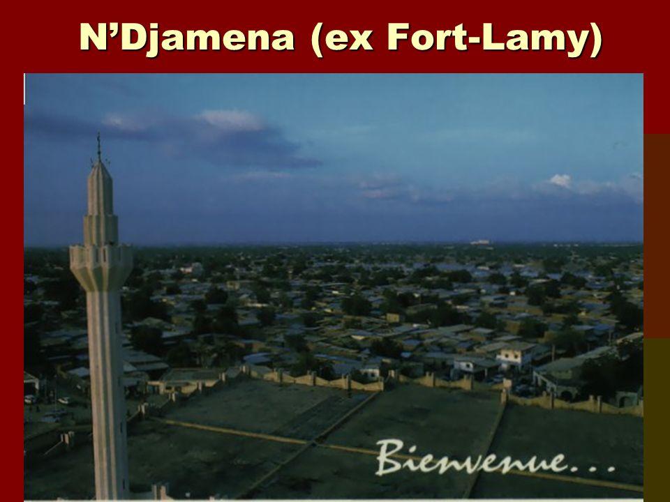 N'Djamena (ex Fort-Lamy)