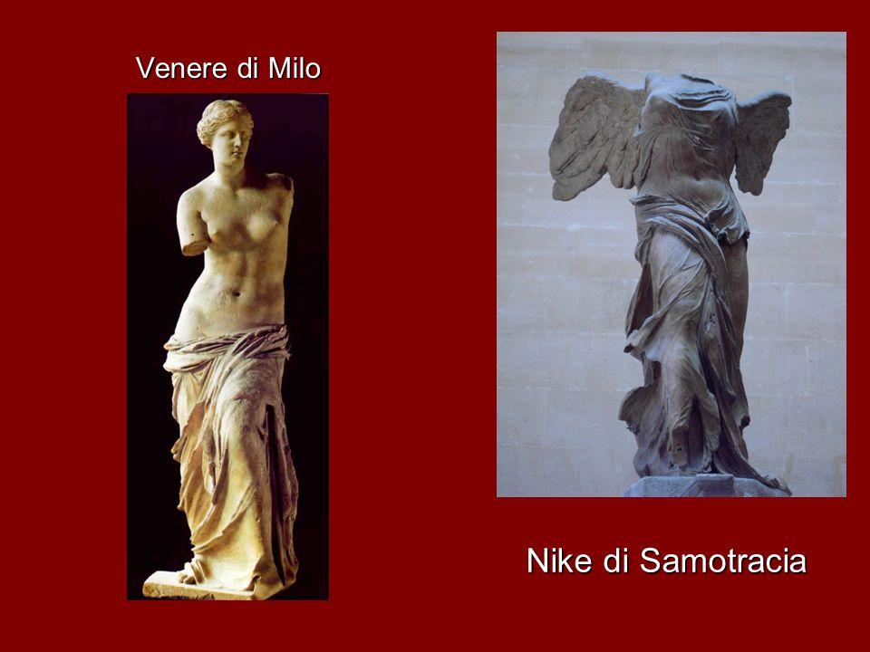 Venere di Milo Nike di Samotracia
