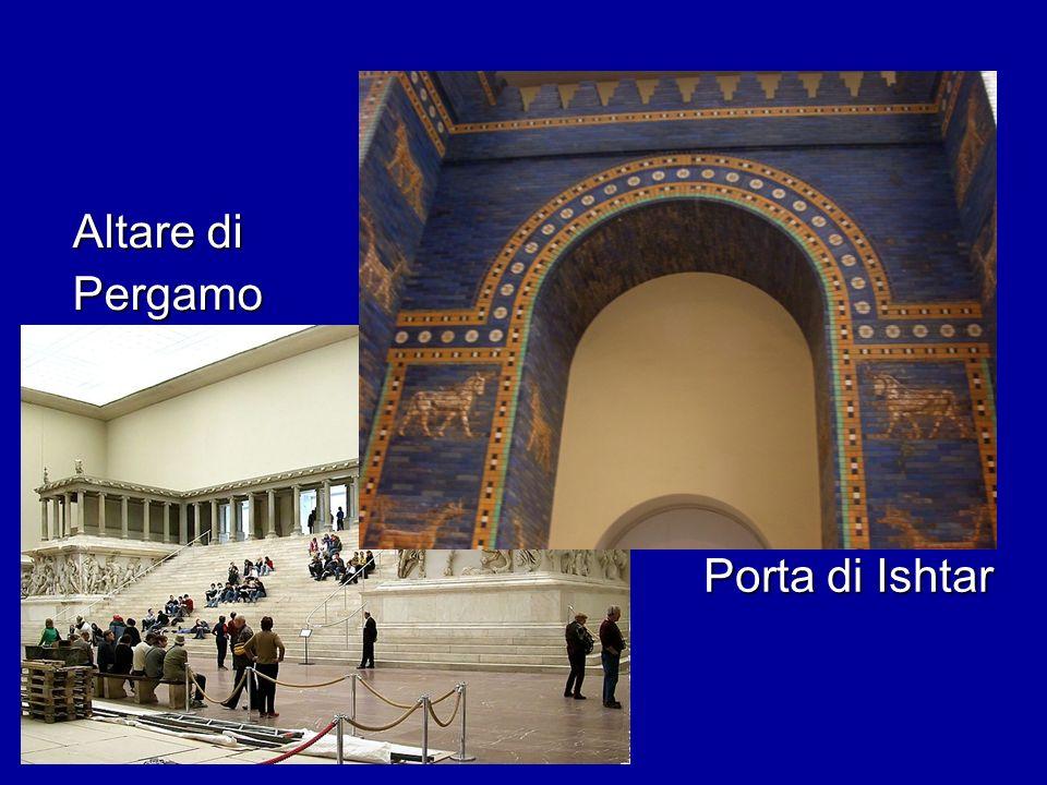 Altare di Pergamo Porta di Ishtar