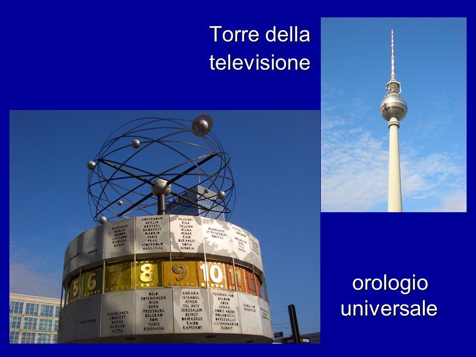 Torre della televisione orologio universale