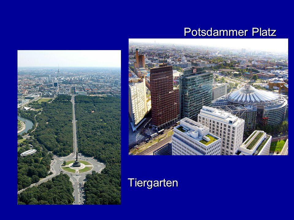 Potsdammer Platz Tiergarten
