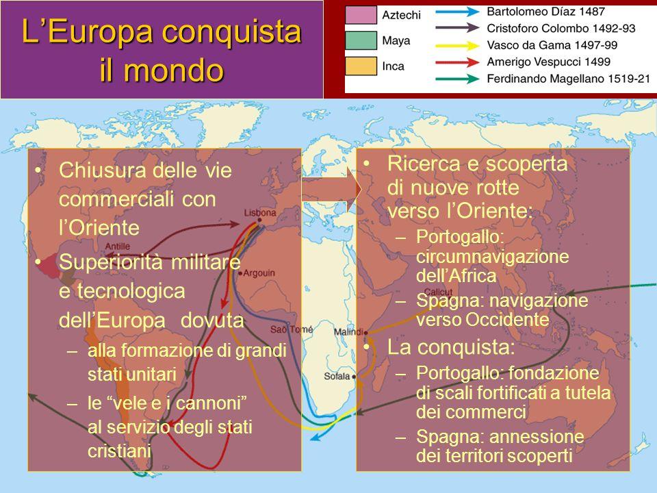 L'Europa conquista il mondo