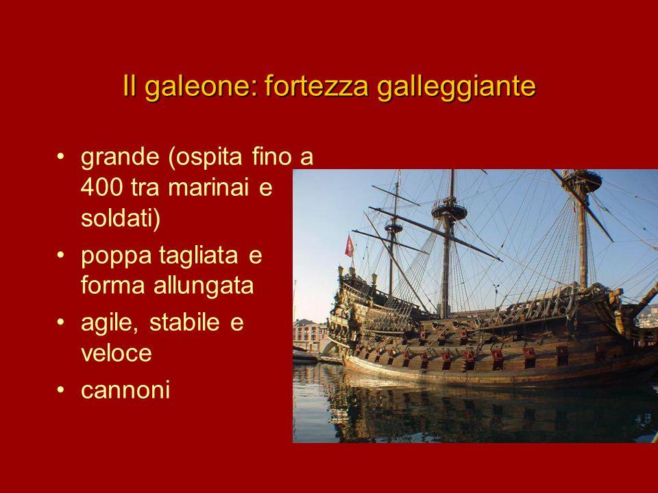 Il galeone: fortezza galleggiante