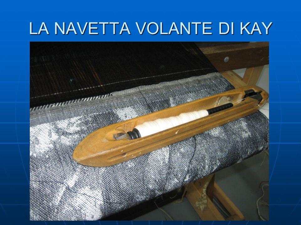 LA NAVETTA VOLANTE DI KAY