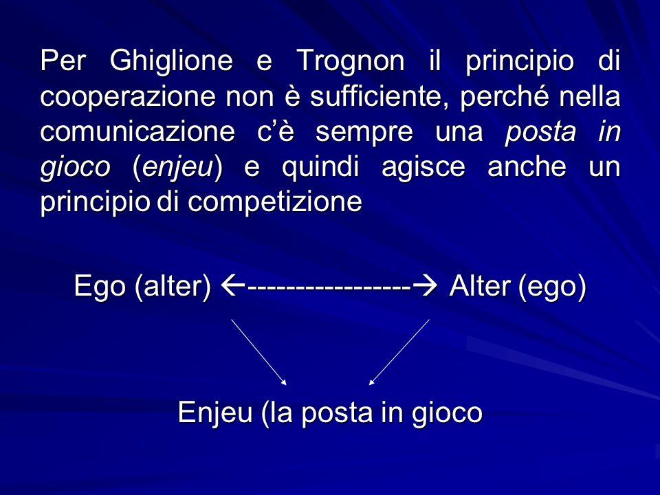 Ego (alter) ----------------- Alter (ego)