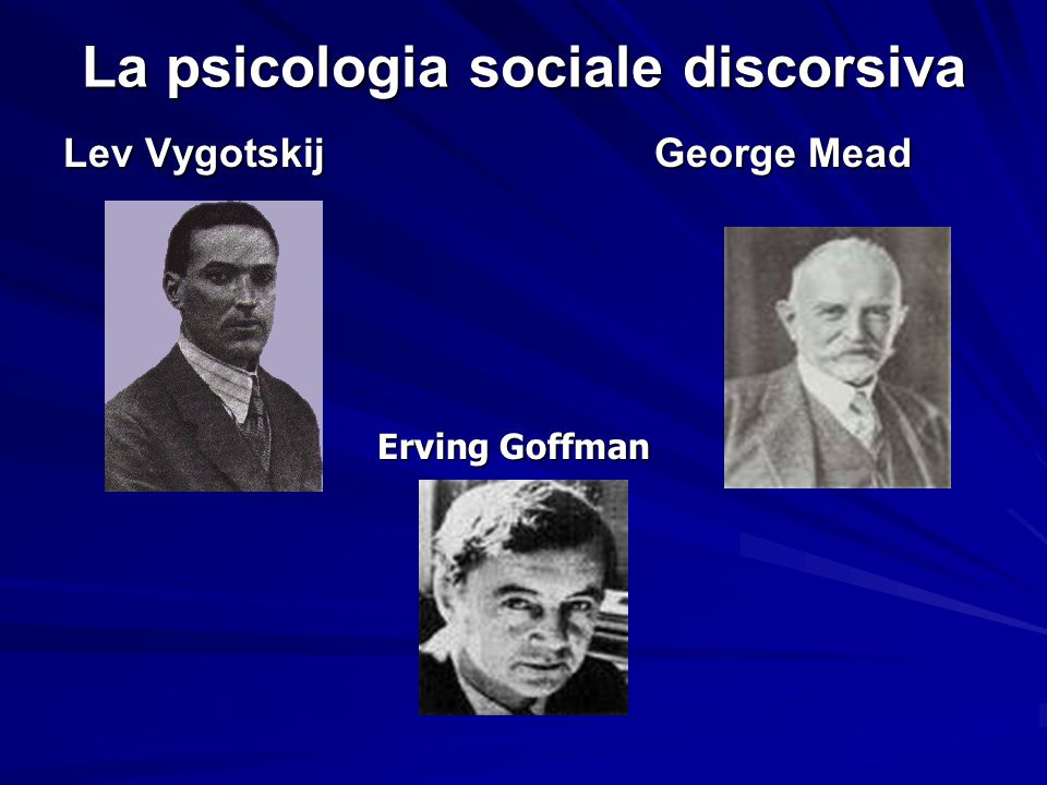 La psicologia sociale discorsiva