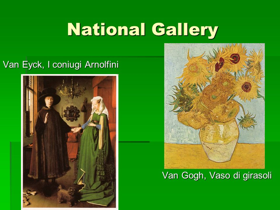 National Gallery Van Eyck, I coniugi Arnolfini