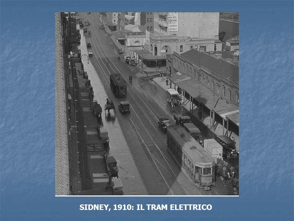 SIDNEY, 1910: IL TRAM ELETTRICO