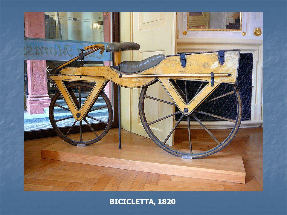 BICICLETTA, 1820