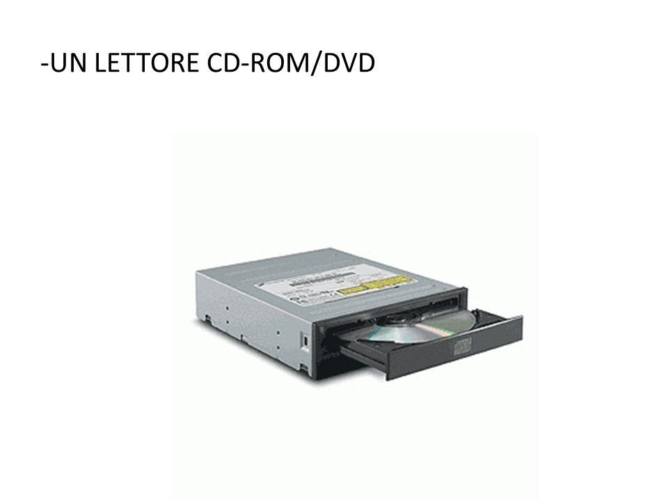 -UN LETTORE CD-ROM/DVD