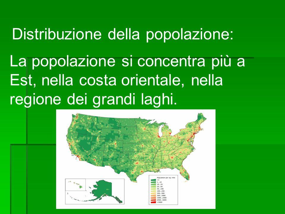 Distribuzione della popolazione: