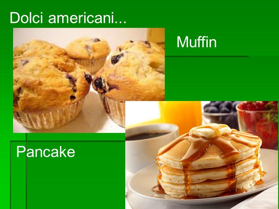 Dolci americani... Muffin Pancake
