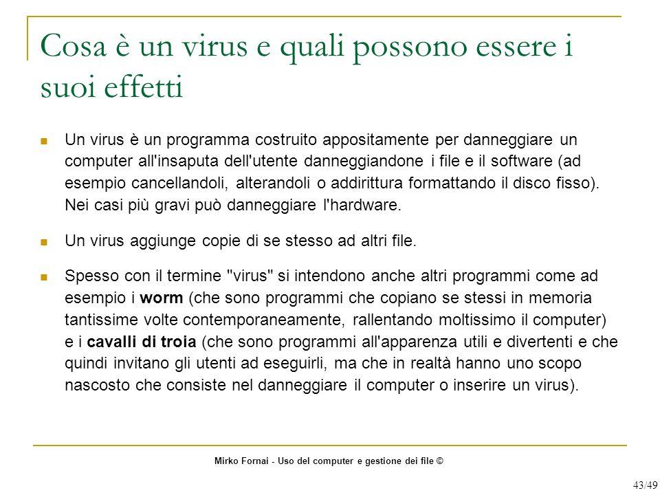 Cosa è un virus e quali possono essere i suoi effetti