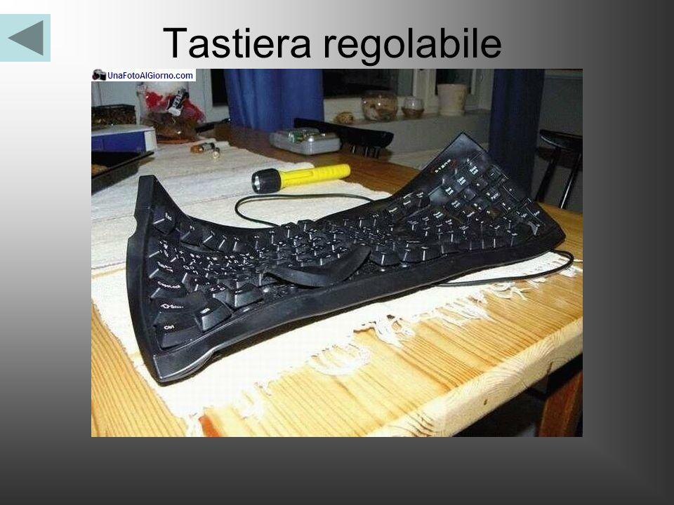 Tastiera regolabile