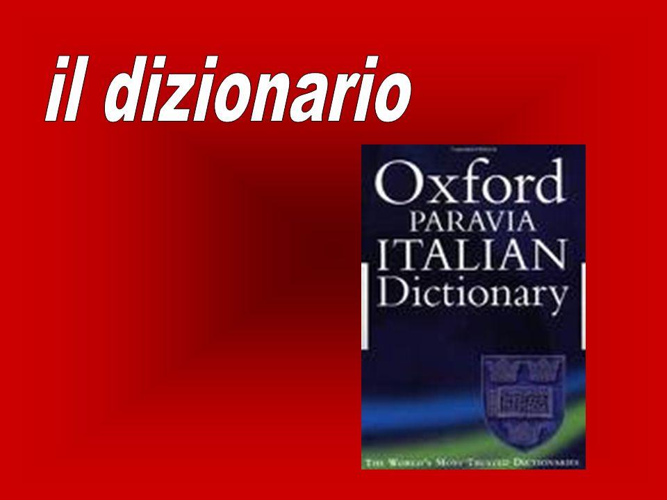 il dizionario