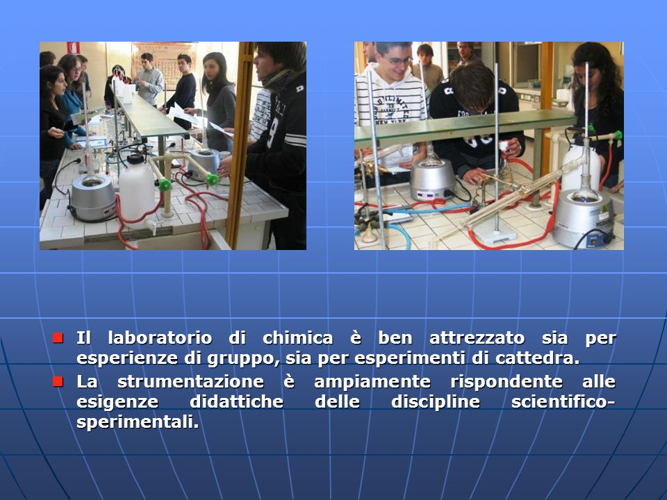 Laboratorio di chimica