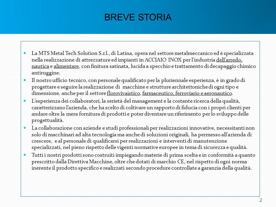 BREVE STORIA