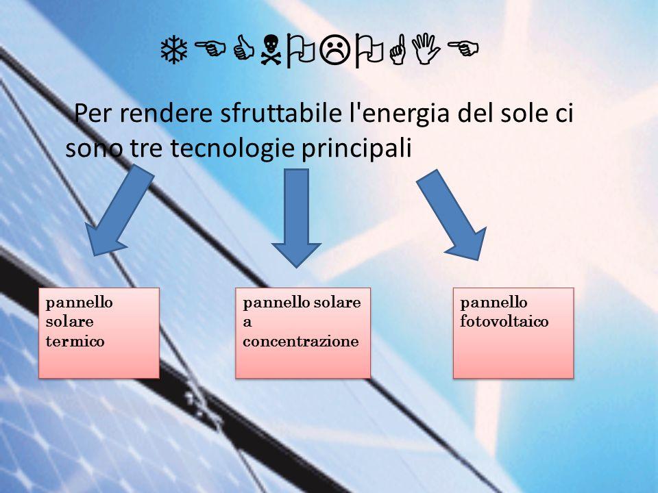Liquido Per Pannello Solare Termico : Energia solare ppt video online scaricare