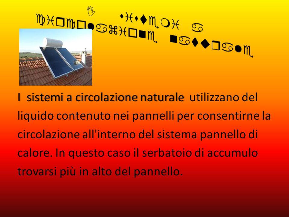 I sistemi a circolazione naturale