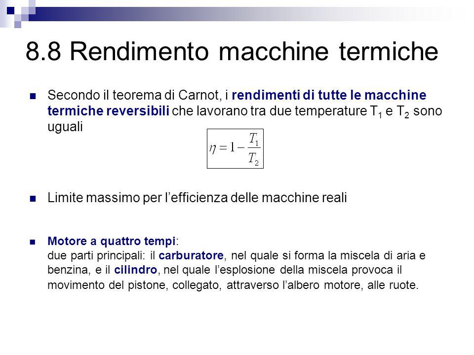 8.8 Rendimento macchine termiche