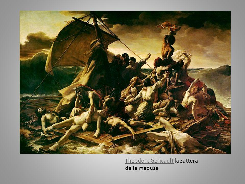 Théodore Géricault la zattera della medusa