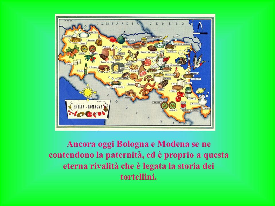 Ancora oggi Bologna e Modena se ne contendono la paternità, ed è proprio a questa eterna rivalità che è legata la storia dei tortellini.