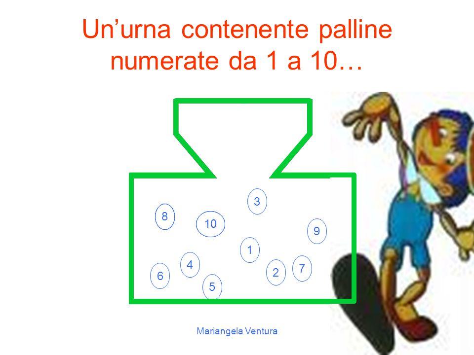 Un'urna contenente palline numerate da 1 a 10…