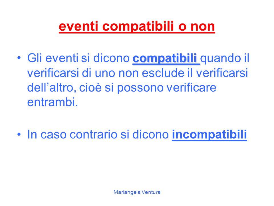 eventi compatibili o non