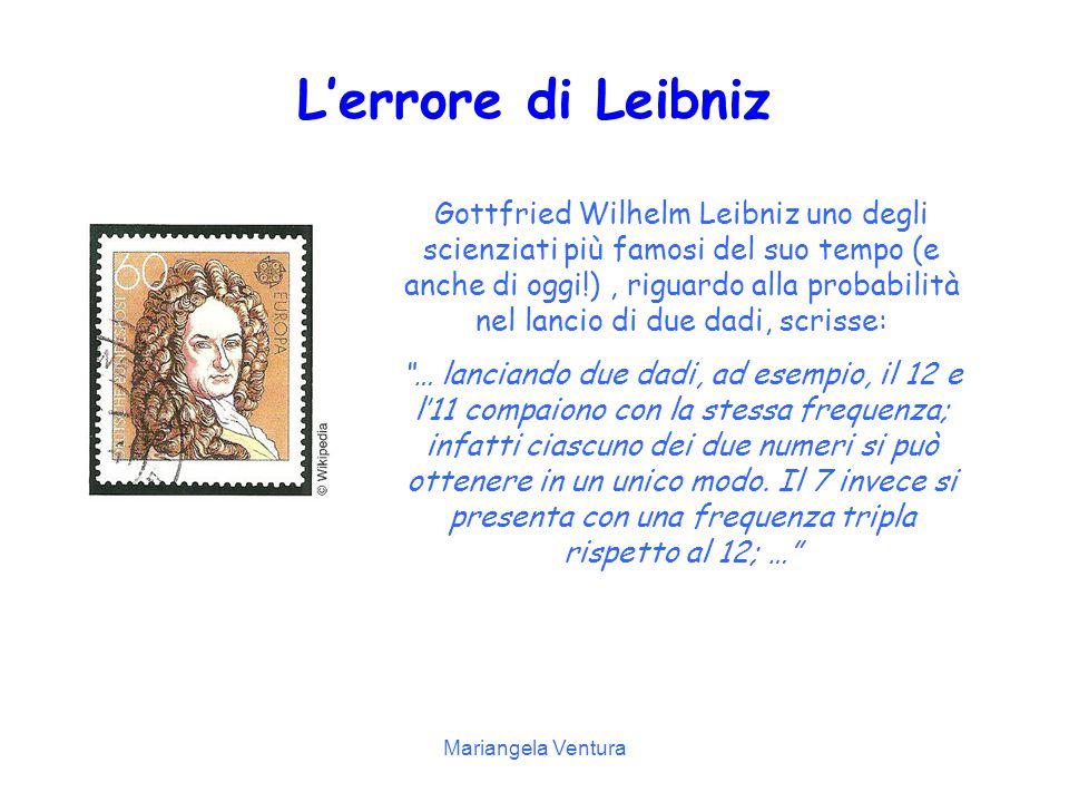 L'errore di Leibniz