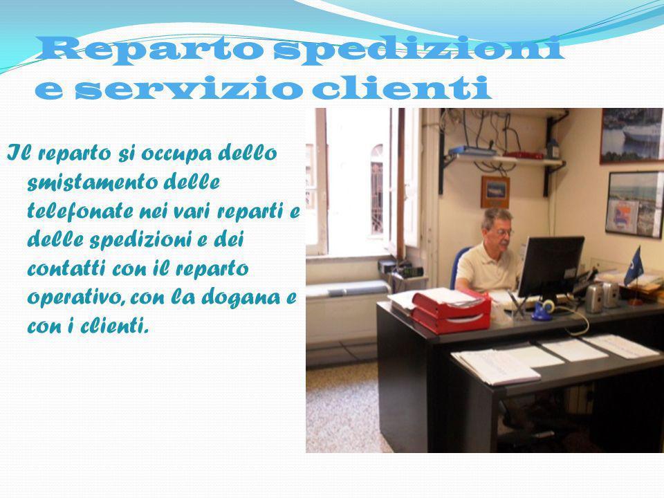 Reparto spedizioni e servizio clienti