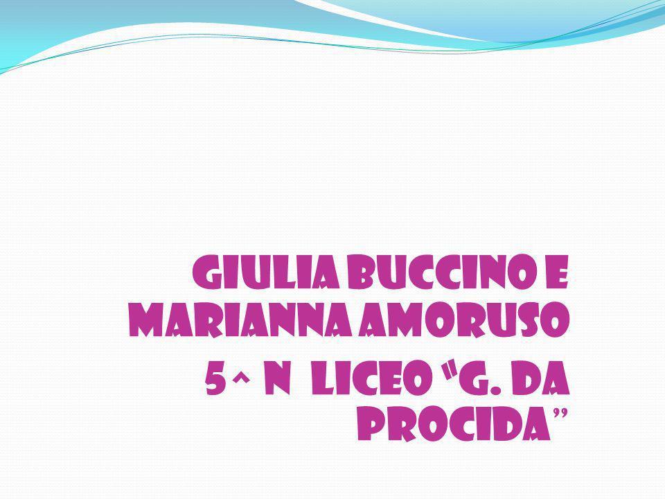 GIULIA BUCCINO E MARIANNA AMORUSO