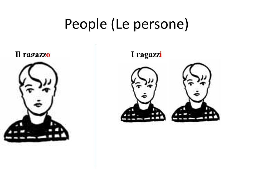 People (Le persone) Il ragazzo I ragazzi