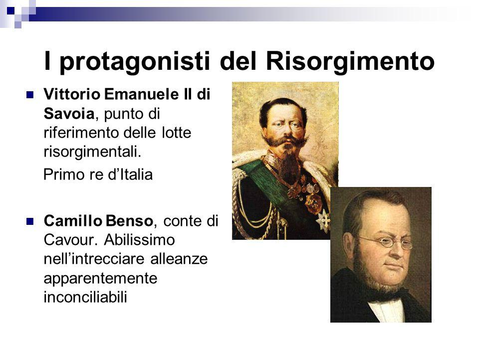 I protagonisti del Risorgimento