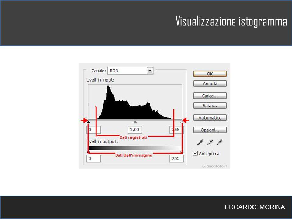 Visualizzazione istogramma