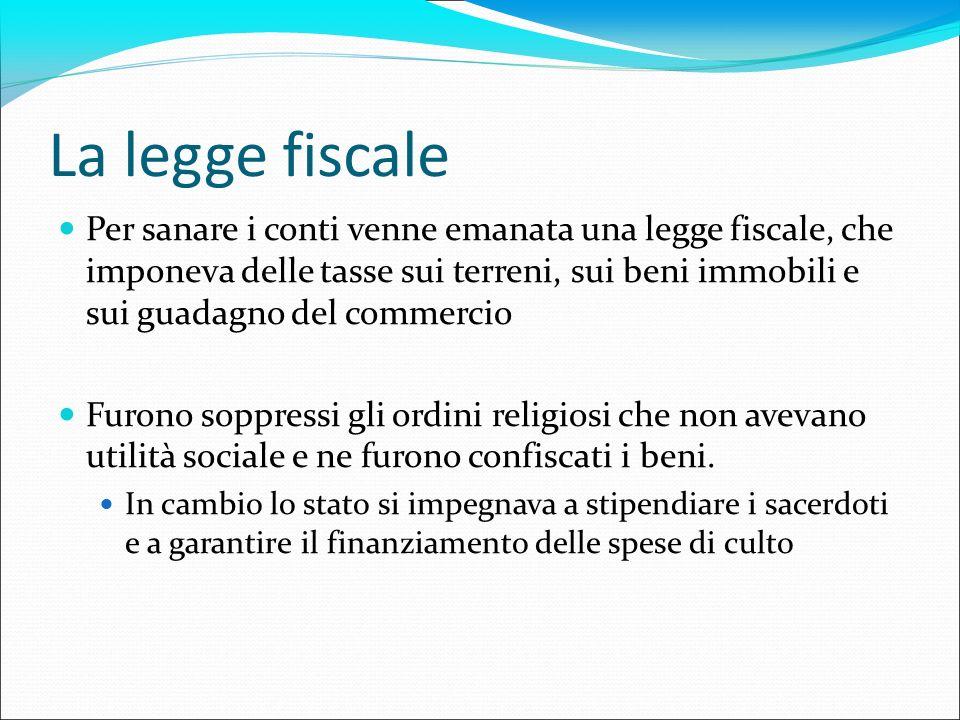 La legge fiscale