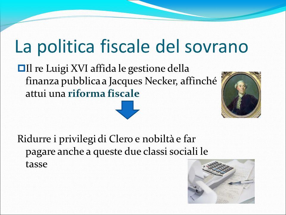 La politica fiscale del sovrano