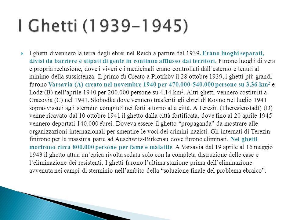 I Ghetti (1939-1945)