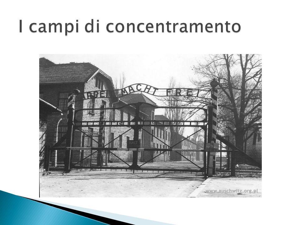I campi di concentramento