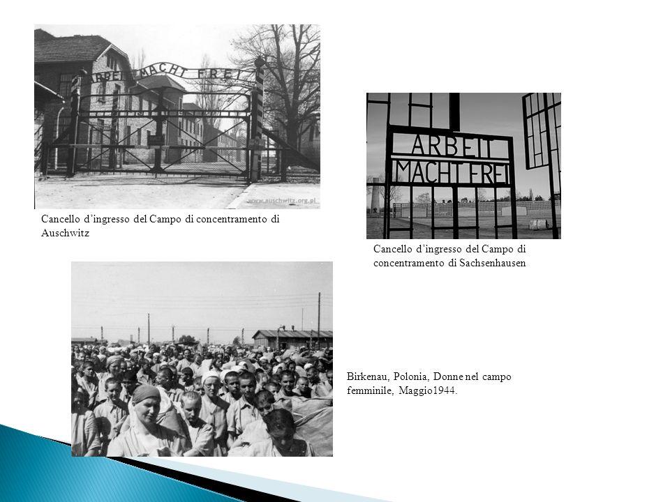 Cancello d'ingresso del Campo di concentramento di Auschwitz