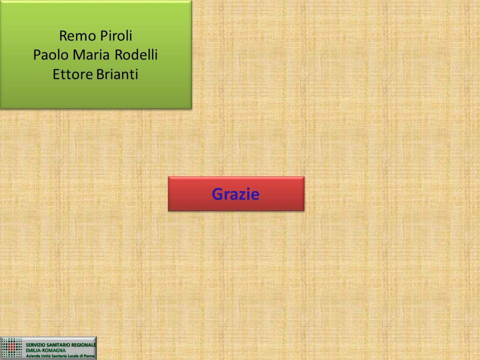Remo Piroli Paolo Maria Rodelli Ettore Brianti Grazie