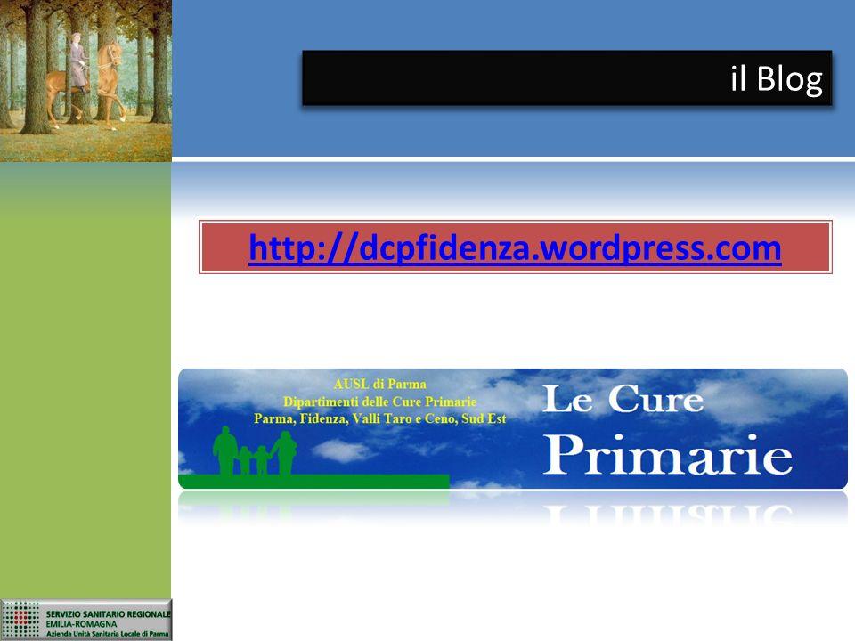 il Blog http://dcpfidenza.wordpress.com