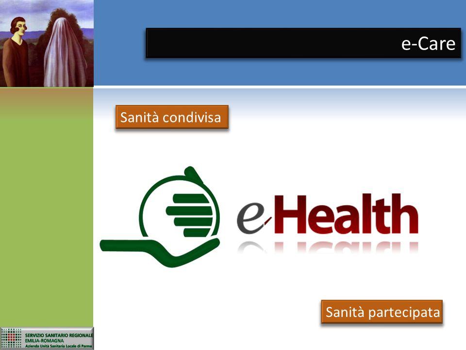 e-Care Sanità condivisa Sanità partecipata