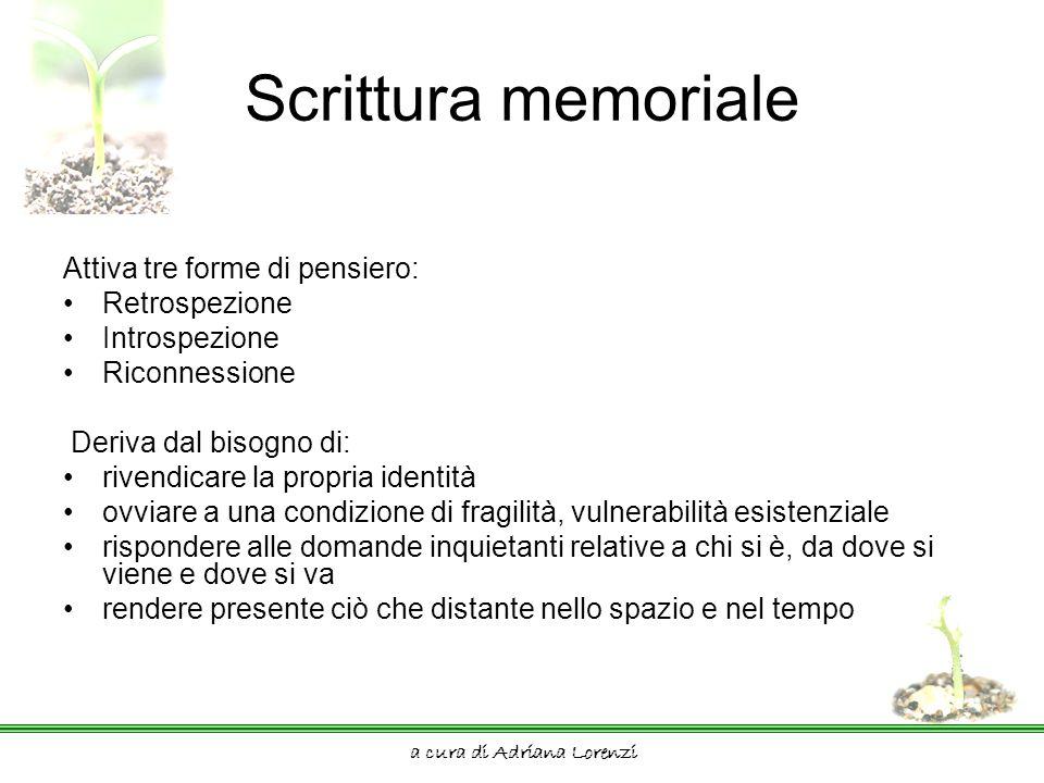 a cura di Adriana Lorenzi